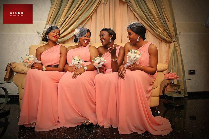 Guest post nigerian bridesmaids headpieces knotsvilla for Post wedding party dress