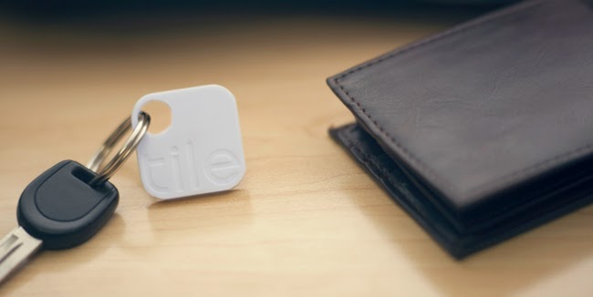 Small tiles you can attach to your keys, wallet, computer, or pretty much anything. If you lose anything, you can then look up their location on your smartphone.