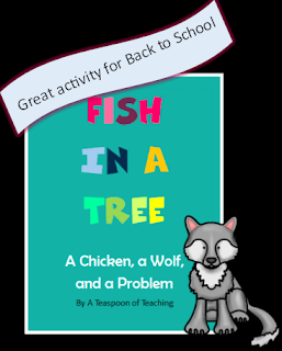 https://www.teacherspayteachers.com/Product/Fish-in-a-Tree-A-Chicken-a-Wolf-and-a-Problem-2000283