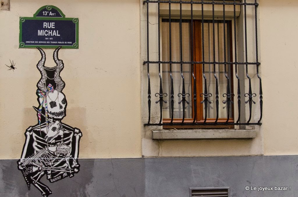 Paris - Butte aux Cailles  - street art