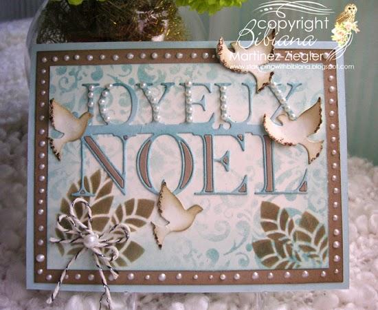 joyeux noel front card