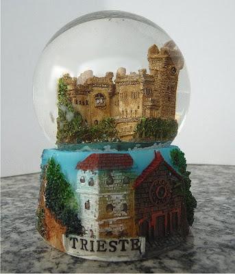 Palle di neve - Boule à neige - Snow globe TRIESTE