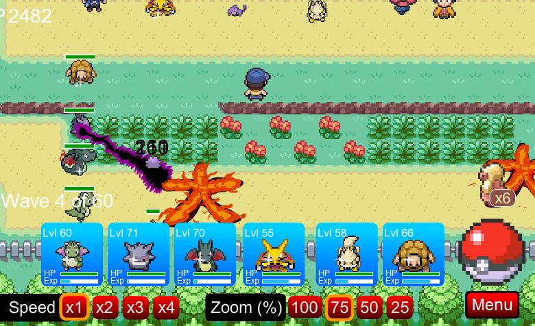 Pokemon Tower Defense Versão 5.4!