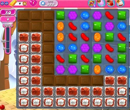 Candy Crush Saga 822