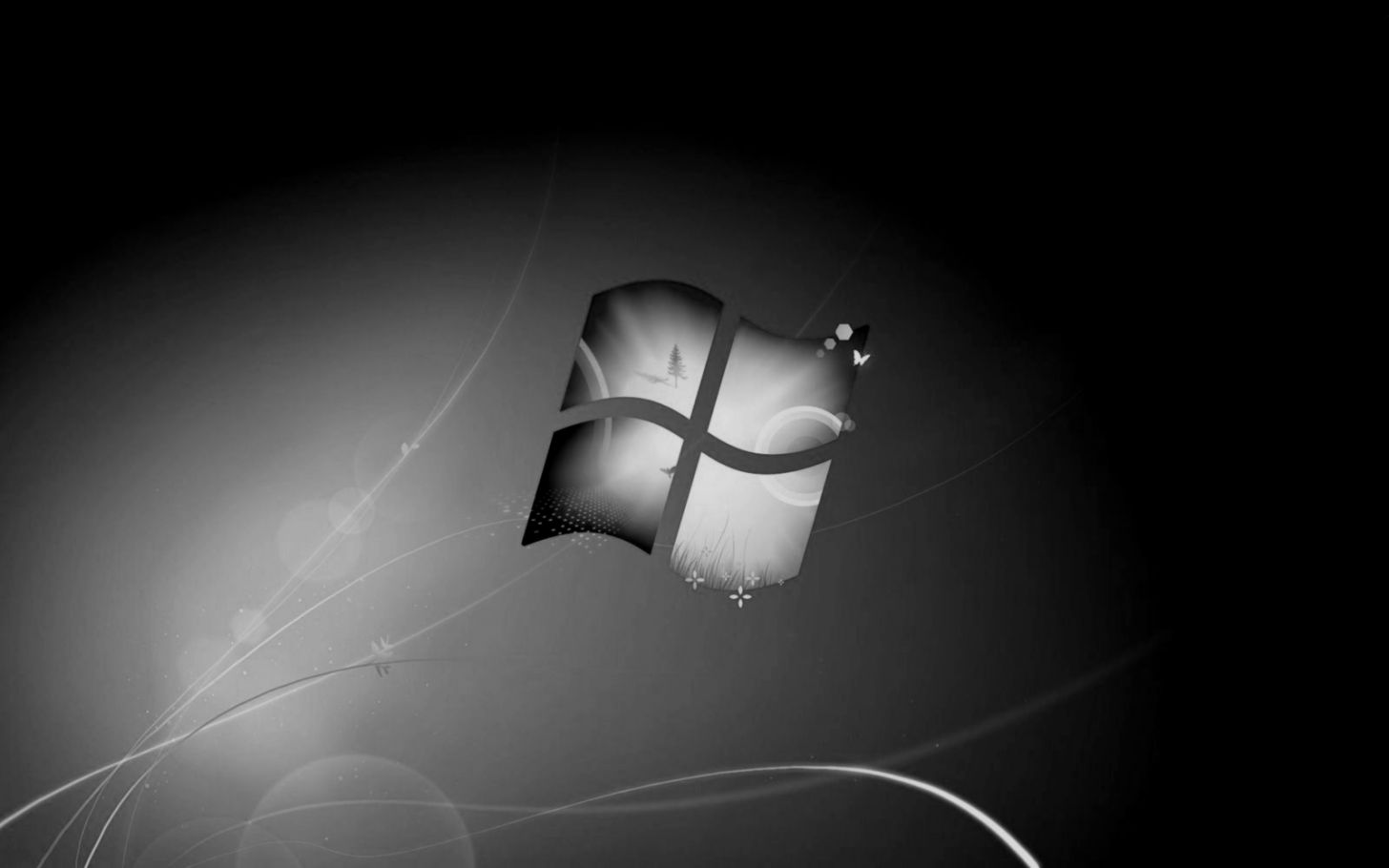 Black And White Wallpaper For Windows 7 | Zoom Wallpapers