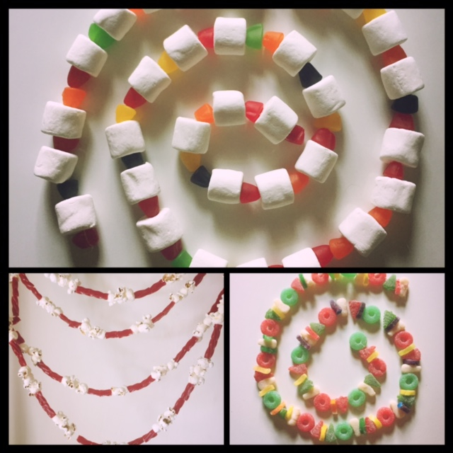 candy garlands