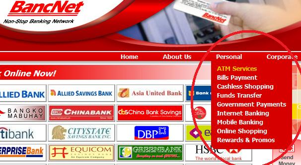 ATM services of BancNet