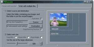PIXresizer Resim boyutlandırma programı