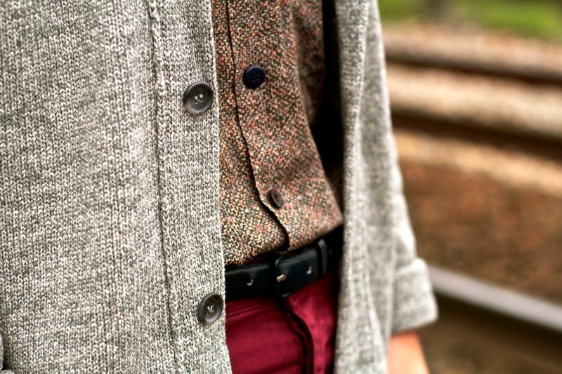 American Vintage Cardigan Blog Mode Homme Mensfashion