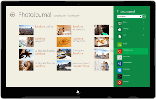Windows 8 Metro UI search contract
