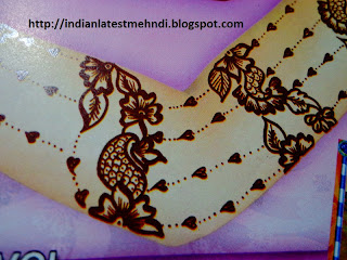 bail mehndi designs for arms 3