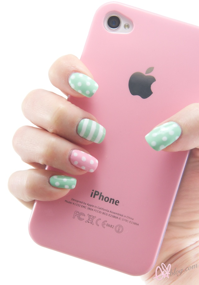 Mint Color Nail Art The Best Inspiration For Design And Color Of