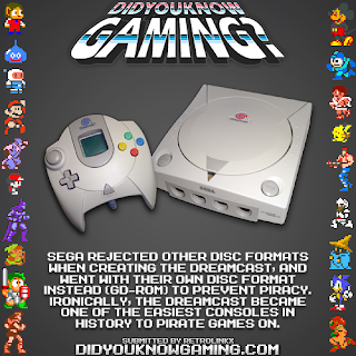 dreamcast fact Random Game Facts   Sega Dreamcast Media