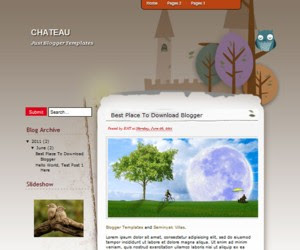 Chateau Blogger Template