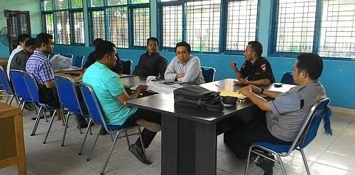 Audiensi Senkom Riau ke KNPI