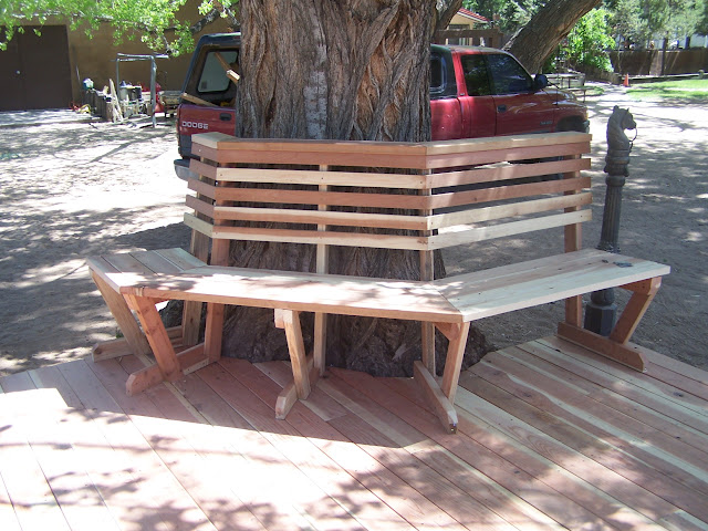 banco de jardim mesa:Decorar o jardim .