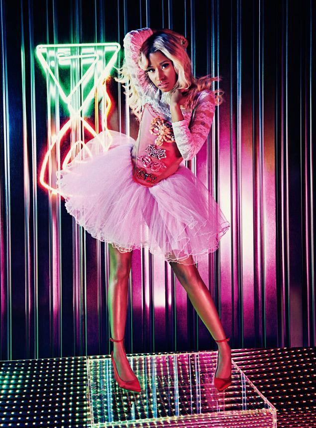 PoshTheSocialite: Nicki Minaj Fun Teen Vogue Photo Shoot ...