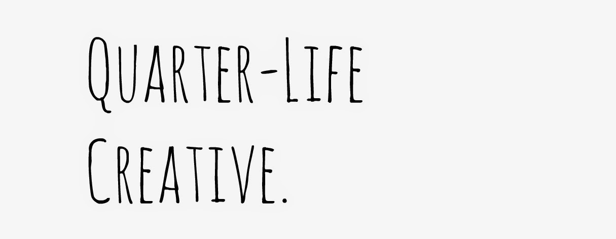 Quarter-life Creative | By Karen Buckley.