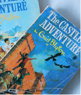 Two-of-my-old-childhood-friends,-Enid-Blyton's-Adventure-books.