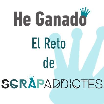 Ganadora Reto Scrapaddictes - Junio'14
