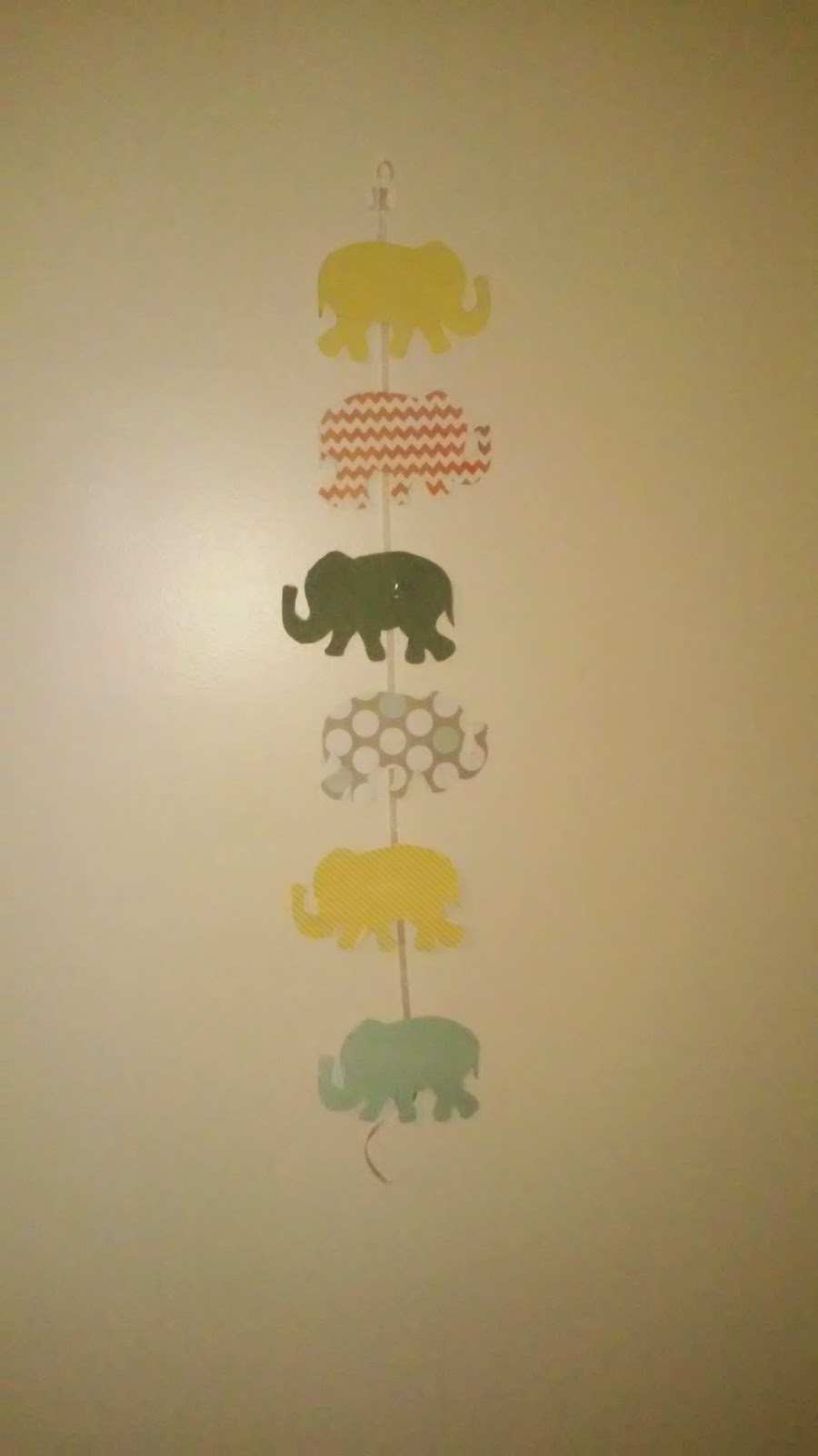 One Year of Pinterest: Day Twenty Two: Elephant Wall Art A Win