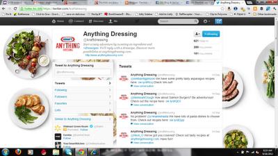 Kraft on Twitter