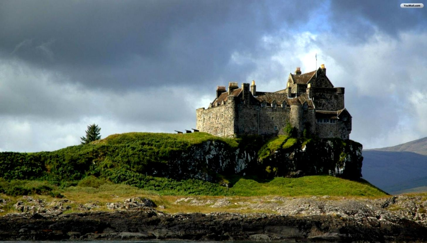 YouWall   Scottish Castle Wallpaper   wallpaperwallpapersfree