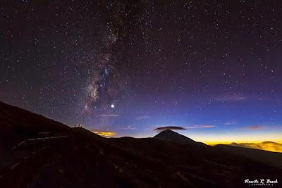 Anochecer en Tenerife - by Vicente R. Bosch