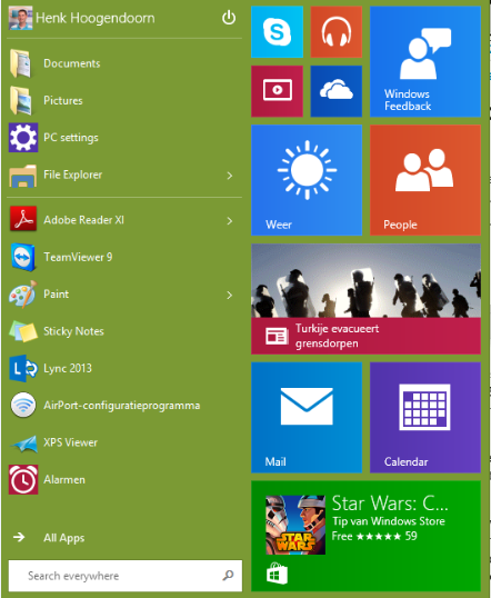 Henk's blog: My personal experience with Windows 10 ...