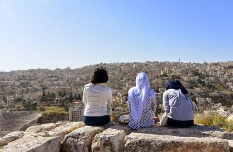 Citadel en Amán, Jordania