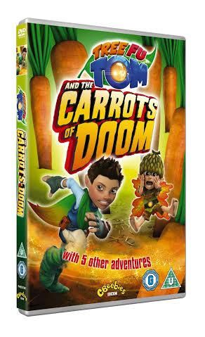 Tree Fu Tom - The Carrots of Doom on DVD