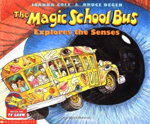 The Magic School Bus Explores the Senses, part of Five Sense Theme- Weekly Home Preschool, Homeschool Pre-K
