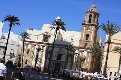 Cathedral Square in Cádiz