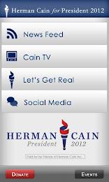 Herman Cain Mobil App.