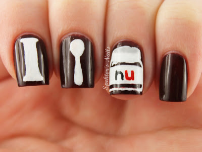I Love Nutella Nails