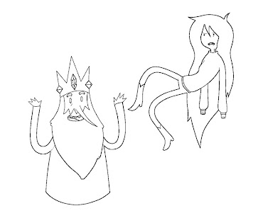 #8 Ice King Coloring Page