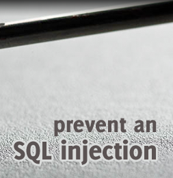 How to prevent SQL injection in PHP?