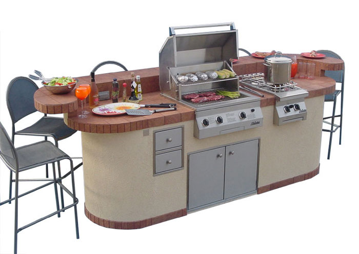 All Amazing Designs: Outdoor Kitchen Designs