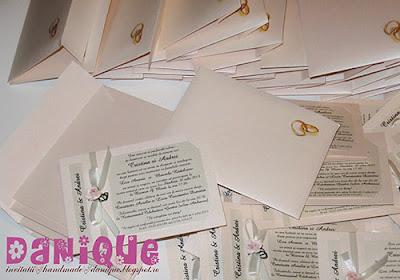 invitatii nunta - danique - INN419