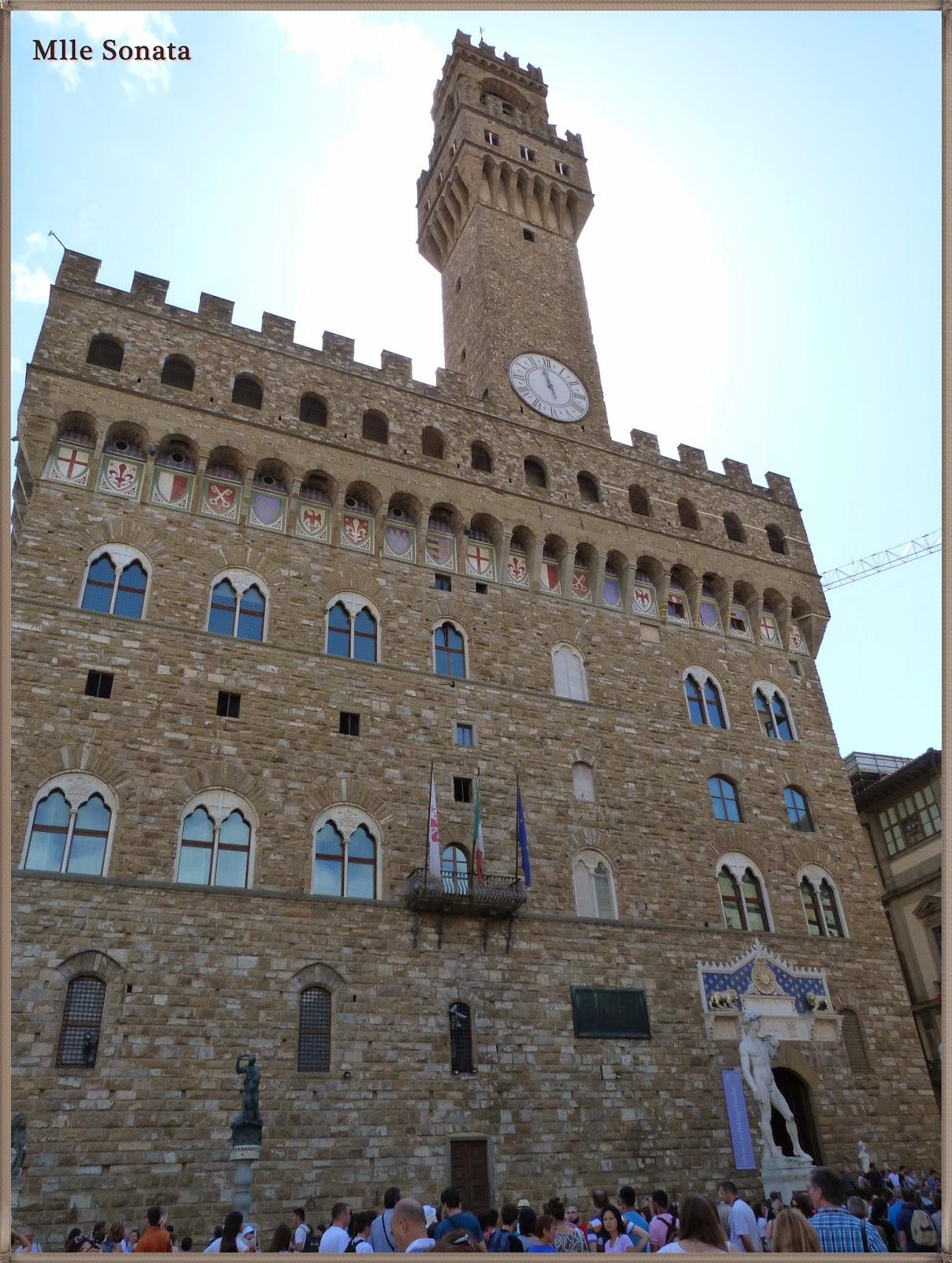 Voyage Italie Sienne Palazzo Vecchio