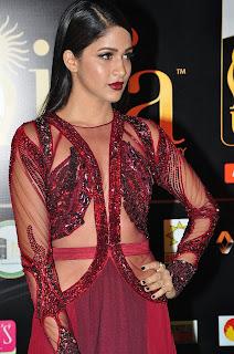 Actress Lavanya Tripathi Stills in Red Dress at IIFA Utsavam Awards 2016 Day 2 (8)