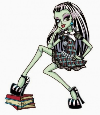Monster High Frankie Stein, part 2