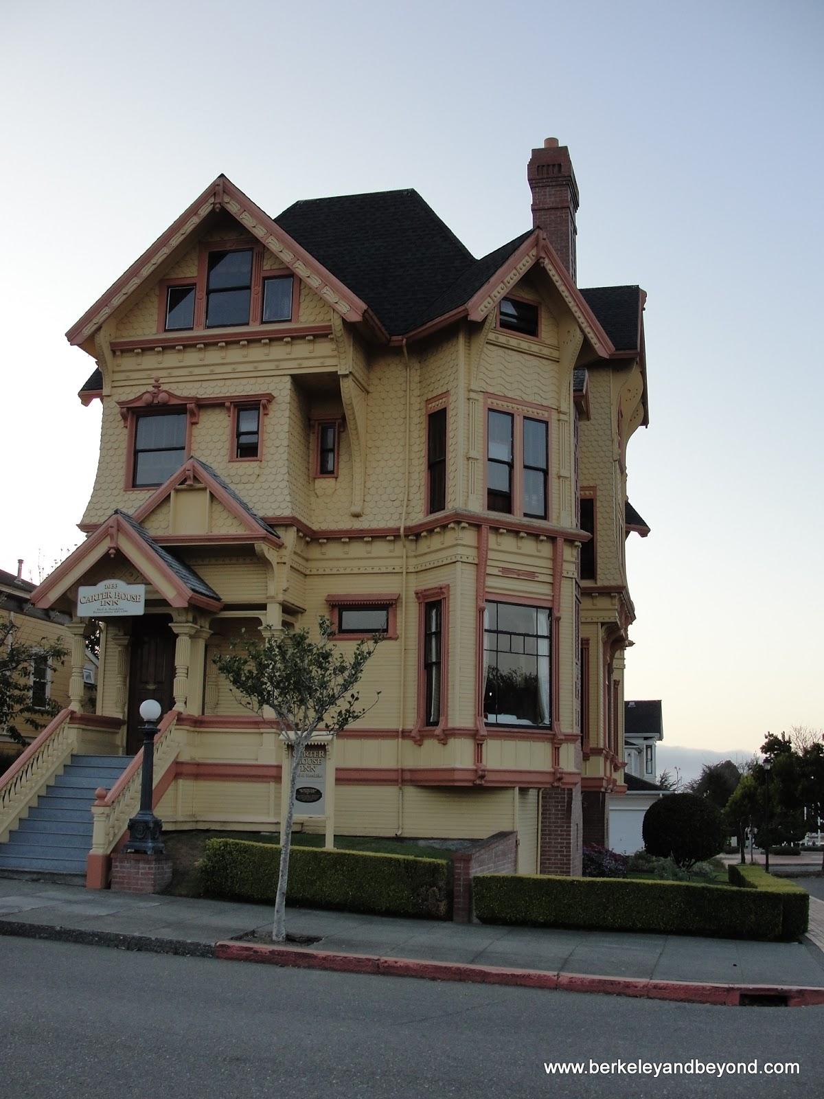 Weekend adventures update 101 north eureka carter house for Eureka house