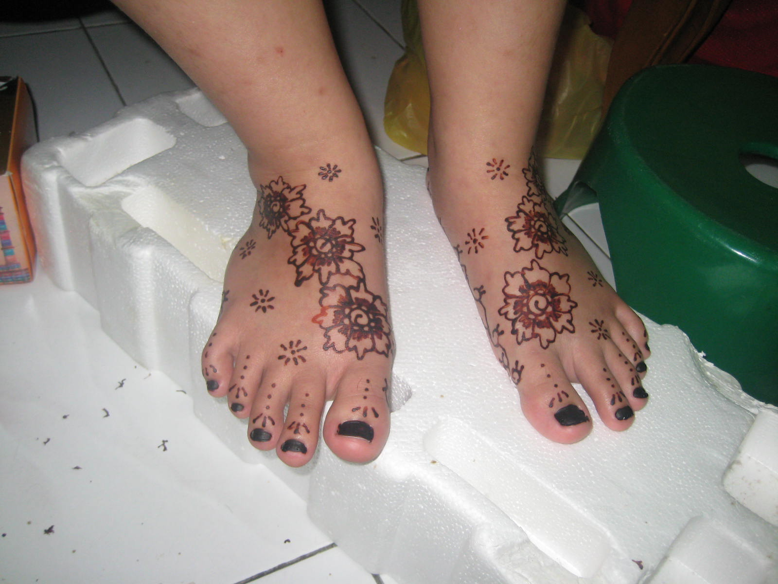 Mehndi Henna Kaki : Henna simple kaki makedes