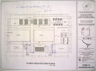 Fases de dise o primer propuesta de planta arquitect nica for Planta arquitectonica biblioteca