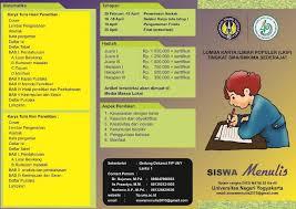 Lomba Karya Ilmiah Guru Dan Siswa Info Kampus Indonesia