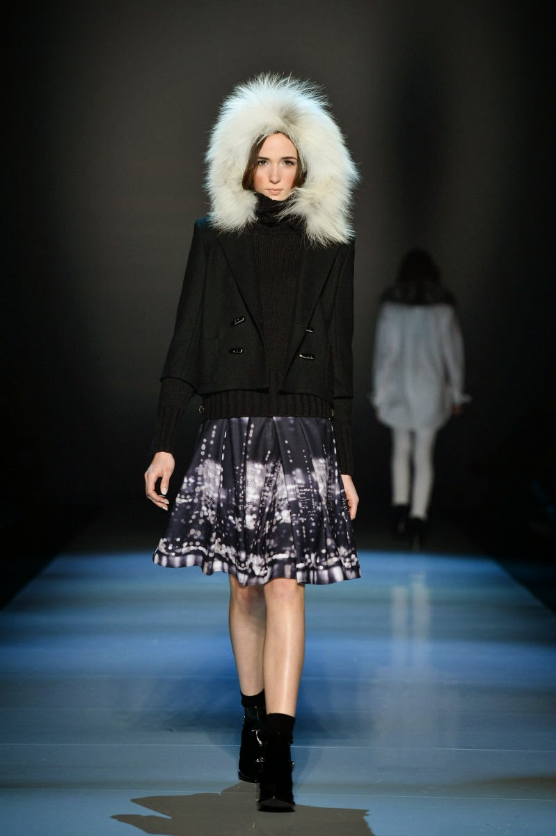 World-MasterCard-Fashion-Week, Toronto-Runway, Pink-Tartan, Fall-Winter-2014