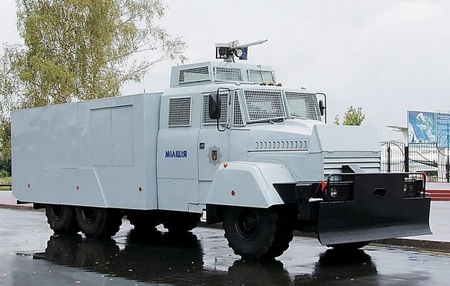 videos de camiones blindados antidisturbios kraz avc30 ucrania