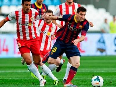 Messi no pudo igualar el record