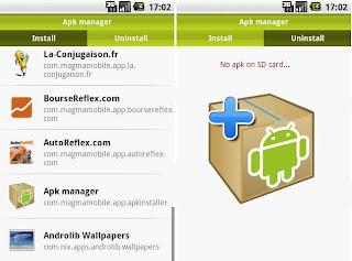 Apk Manager - Gestionnaire d'application apk pour android